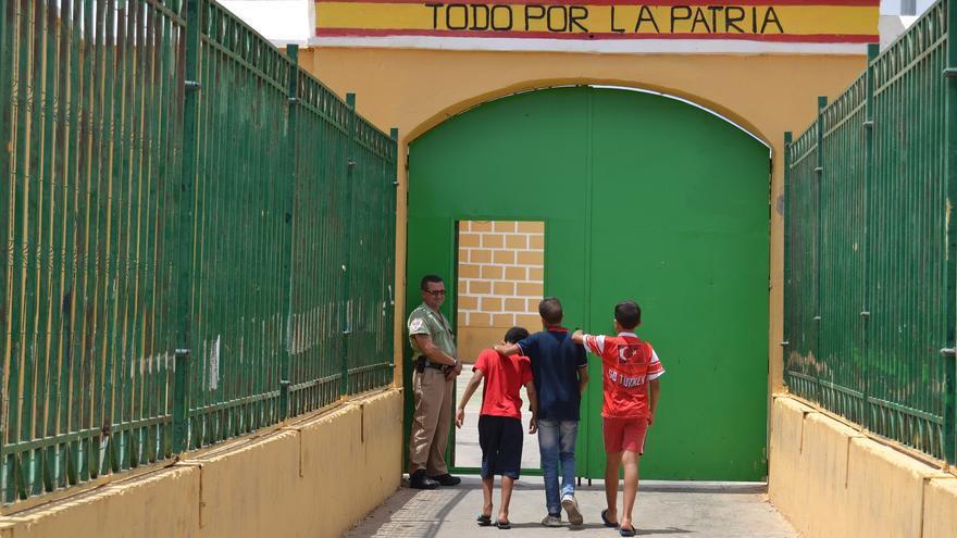 Tres niños entran al módulo de acogida de La Purísima   N.C.