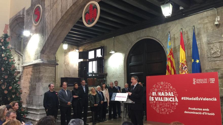 Ximo Puig presenta la campaña El Nadal és Valencià.