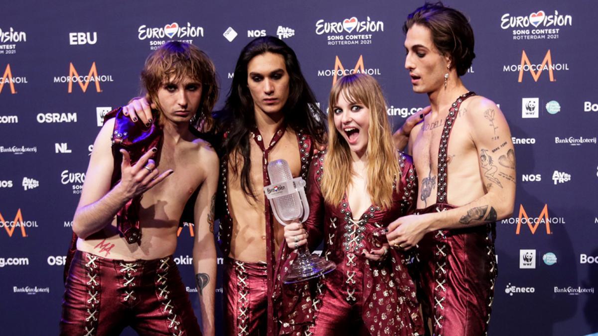 Maneskin, tras su triunfo en Eurovisión 2021
