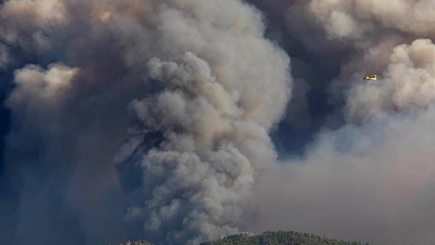 Más de 900 bomberos combaten dos grandes fuegos en el centro de Portugal