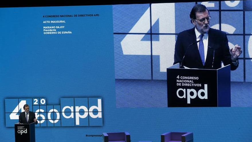 Rajoy augura que la riqueza perdida en la crisis se recuperará antes de junio