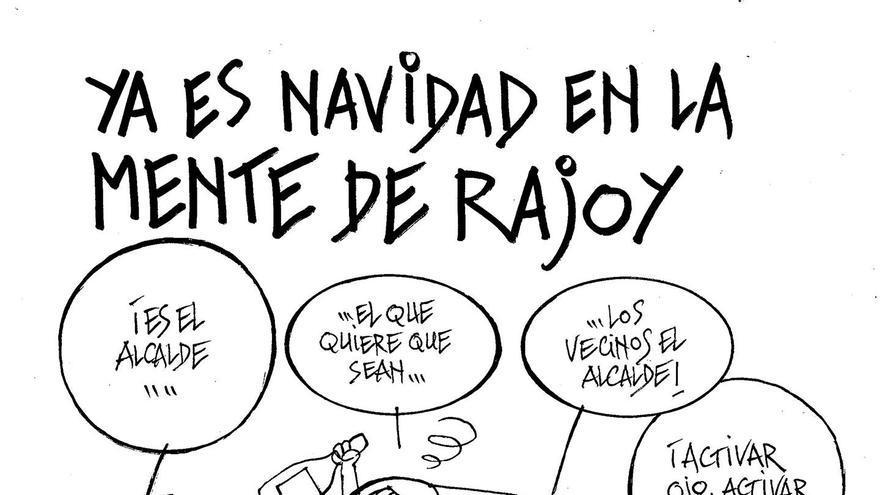 Ya es Navidad en la mente de Rajoy