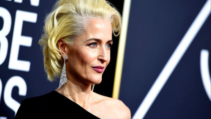 Gillian Anderson The Crown Vertele