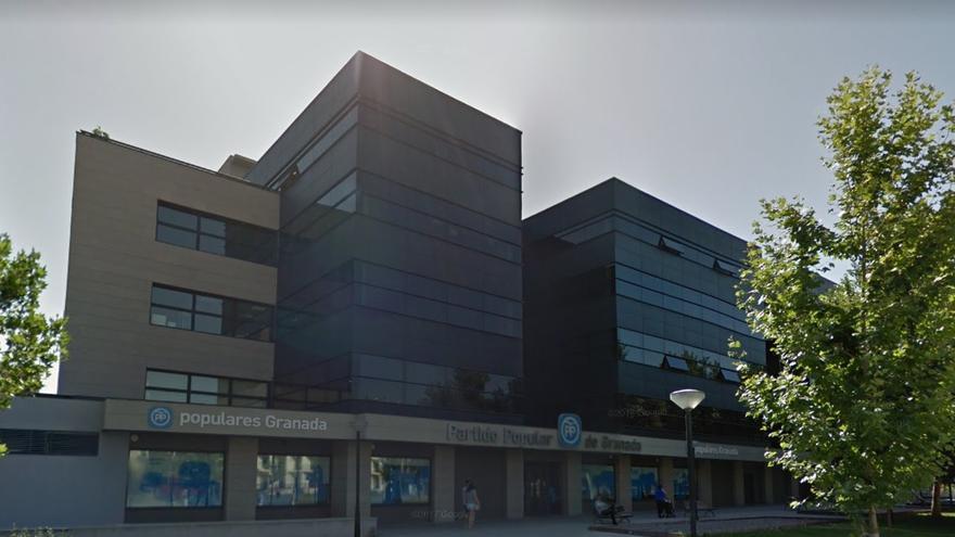 Sede del PP de Granada en el Edificio Progreso