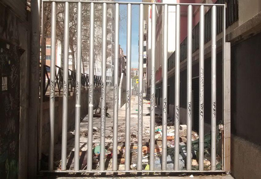 Estado actual del callejón de la polémica | Foto: Somos Malasaña