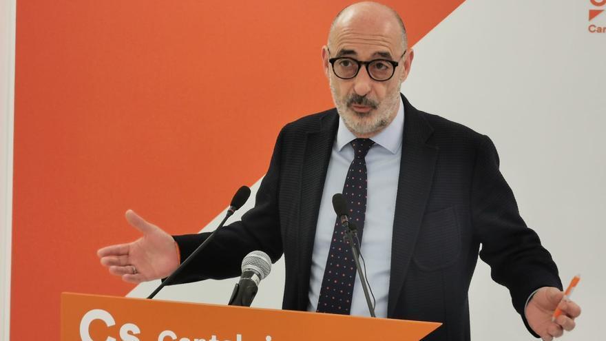 Félix Álvarez, portavoz autonómico de Ciudadanos Cantabria.