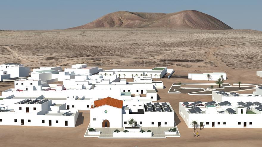 Simulación de la microrred inteligente de energía en La Graciosa.