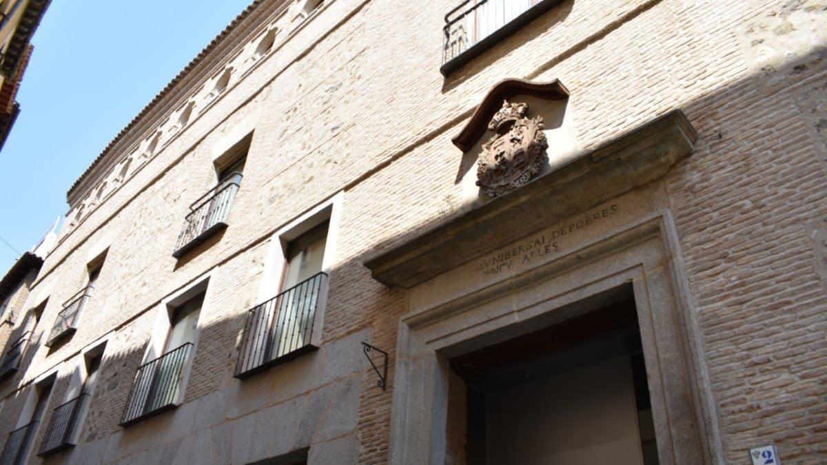 Edificio del Hospitalito del Rey, en Toledo