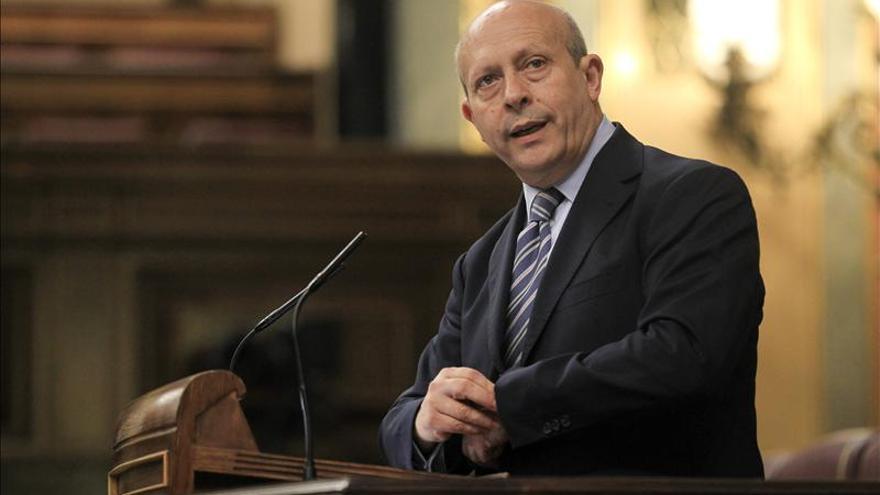 """Stes-I pide la dimisión de Wert tras ser """"desautorizado"""" por el Gobierno"""