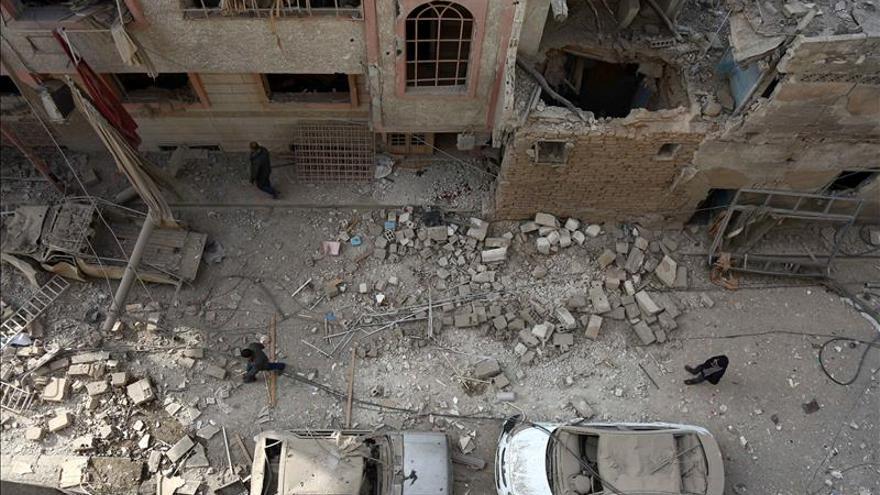 Al menos 19 muertos por un supuesto bombardeo de Rusia cerca de Damasco