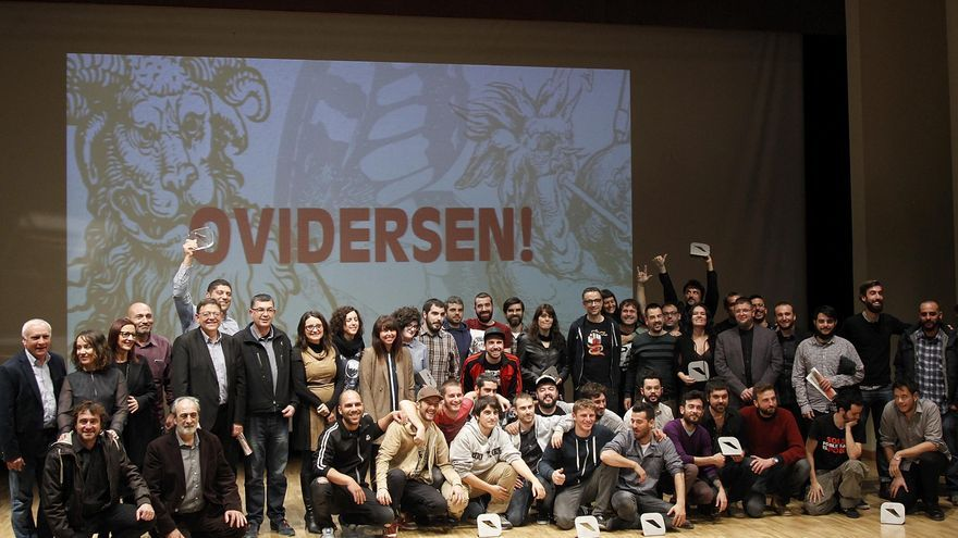 Els guardonats dels premis Ovidi Montllor de música en valencià