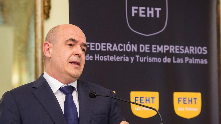 José María Mañaricúa, presidente de la Federación de Empresarios de Hotelería y Turismo.