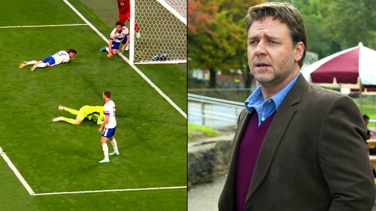 Bélgica-Rusia / Russell Crowe en 'Los próximos tres días'