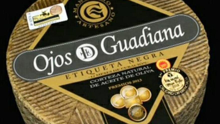 'Ojos del Guadiana etiqueta negra', premiado en el World Championship Cheese Contest