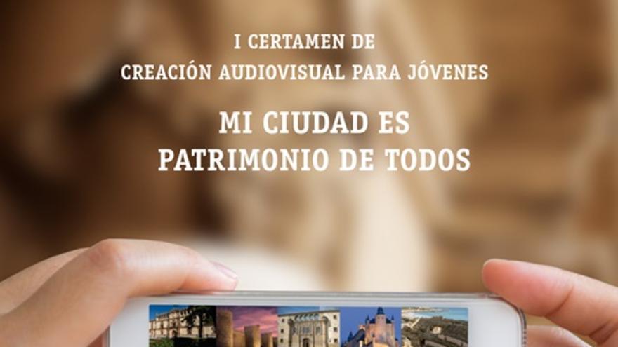 Cartel 'Mi ciudad es patrimonio de todos'