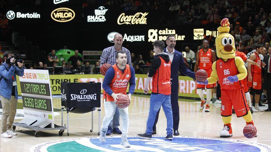 El Triple Solidari de Bankia aporta 31.150 euros per al bàsquet base de Valencia Basket