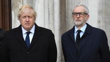 Johnson y Corbyn