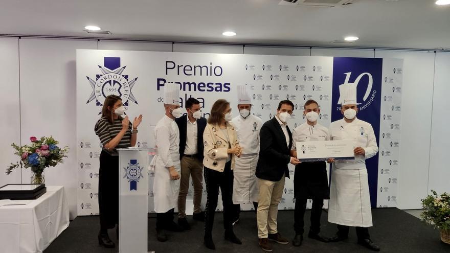 El asturiano Pablo García Llorente, Promesa de la Alta Cocina