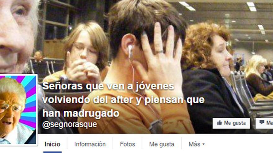 """Carlos Valladolid creó más de una decena de páginas de """"Señoras que"""""""