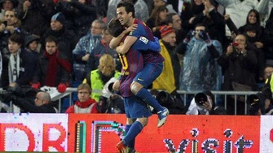 Cesc Fábregas Y Leo Messi Con El FC Barcelona