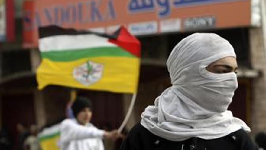 Enfrentamientos entre israelíes y palestinos