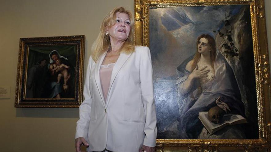 """Carmen Thyssen dice que su colección vale """"más de 1000 millones"""""""