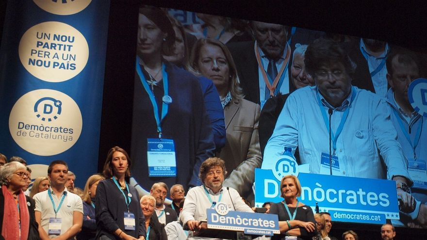 "Demòcrates desea ""éxito"" a CDC con su próximo partido pero no se plantea sumarse"
