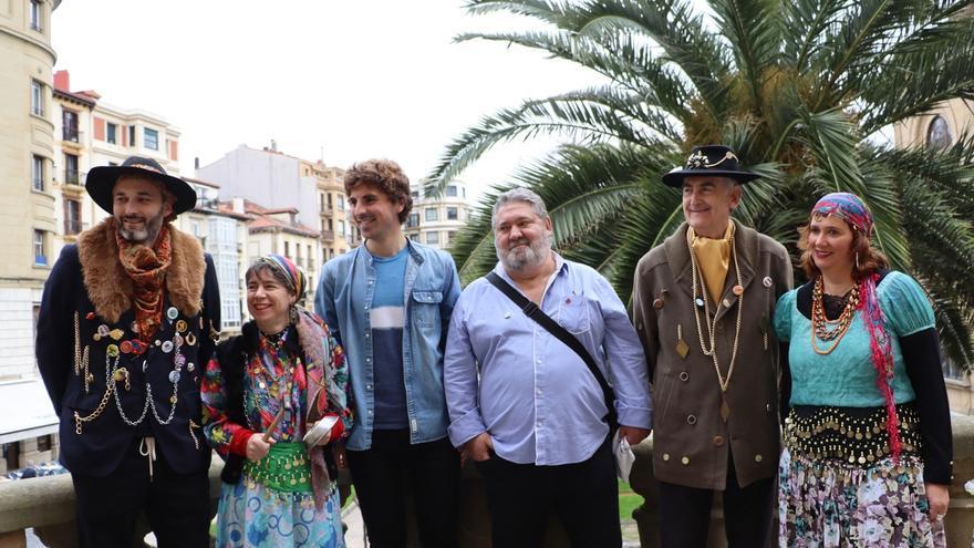 Caldereros, inudes y artzainas llegarán a San Sebastián este fin de semana