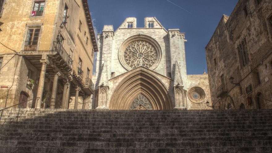 La catedral de Tarragona, donde se celebrará un acto este sábado, en vísperas de la ceremonia.