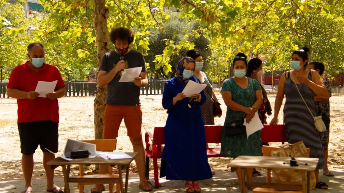 Presentación de la campaña Yo, Antonia García, en 2020
