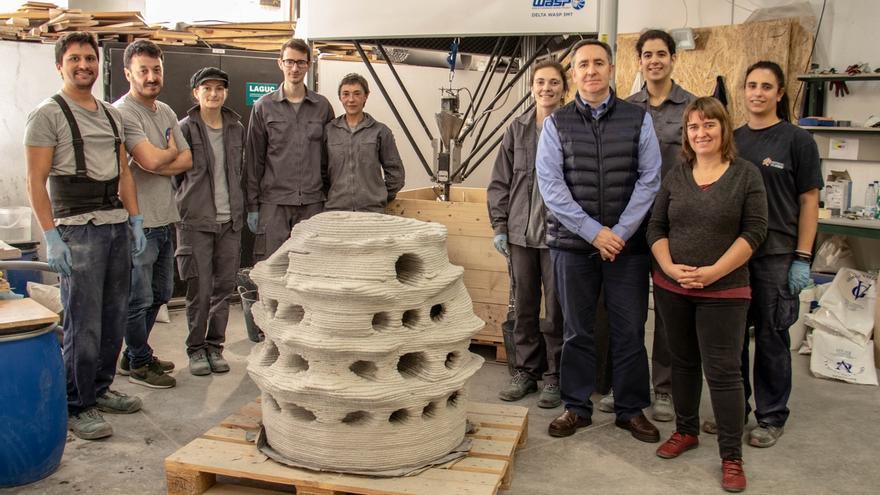 La UC diseña y fabrica con una impresora 3D arrecifes artificiales para mejorar los ecosistemas