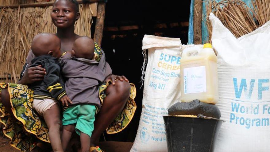 El 40 % de la población de República Centroafricana sufre inseguridad alimentaria, advierte el PMA