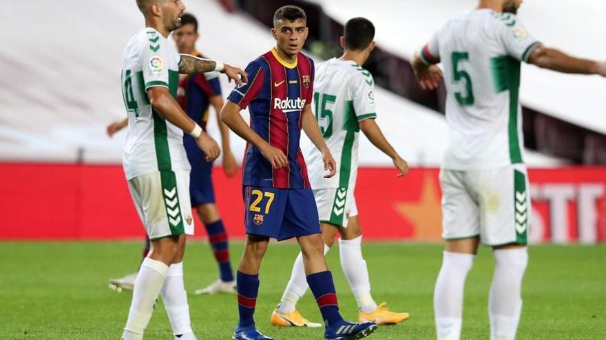 Pedri lucirá el '16' en el FC Barcelona