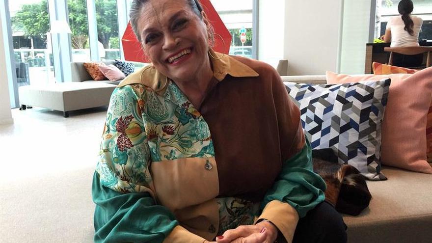 La cantante Soledad Bravo no pierde la esperanza de una Venezuela reverdecida