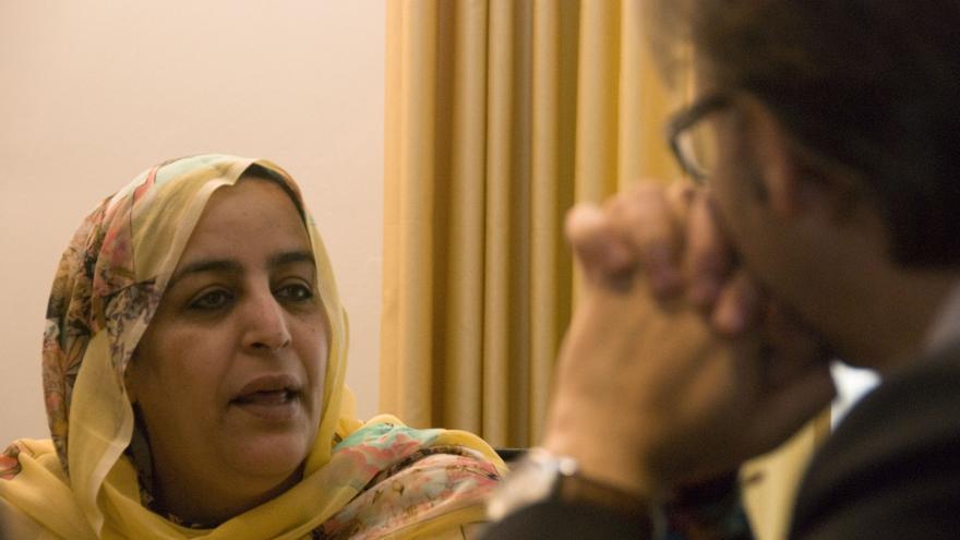 Fatma Brahim delegada saharaui Sahara Extremadura