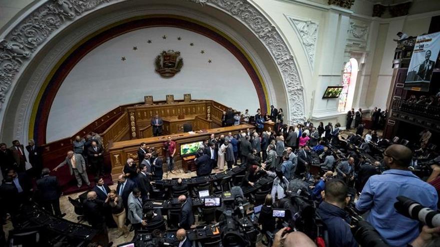 El Parlamento venezolano declara en emergencia el estado petrolero por una grave crisis