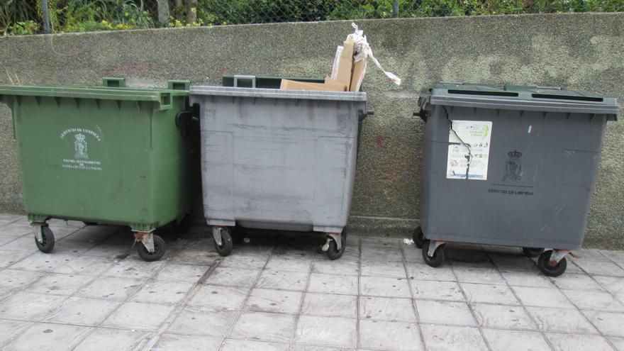 Los vecinos que no cumplan con la normativa de depósito de basura serán sancionados. Foto: LUZ RODRÍGUEZ