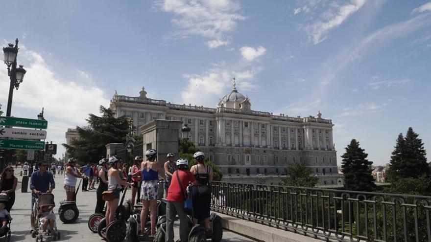 España recibió 36,3 millones de turistas hasta junio, un 11,6 por ciento más