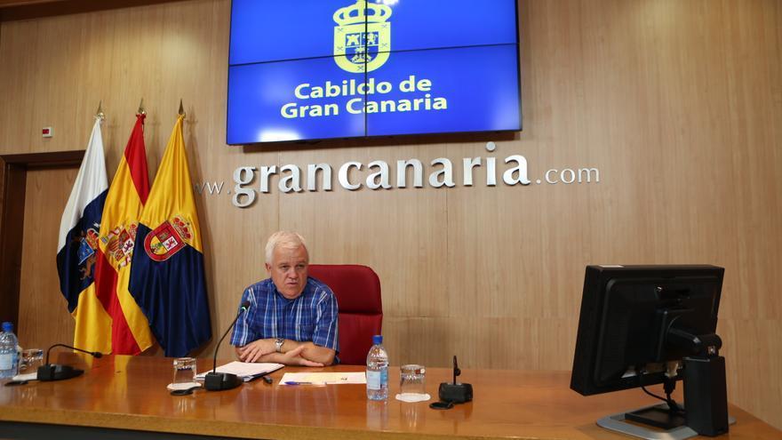 El consejero de Cooperación y Solidaridad Internacional del Cabildo de Gran Canaria, Carmelo Ramírez  (ALEJANDRO RAMOS)