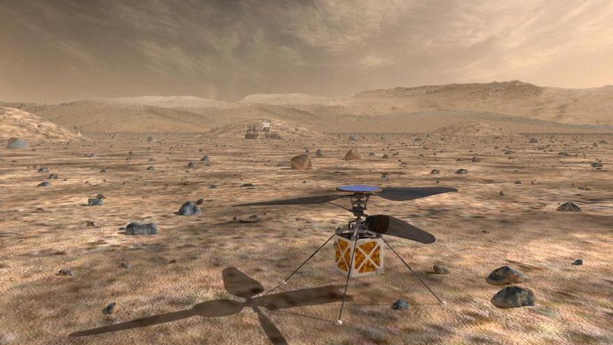 ¿Y si primero conquistamos el planeta rojo con robots?