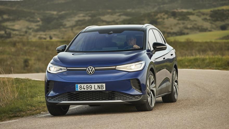 Al volante del Volkswagen ID.4, un eléctrico que convence