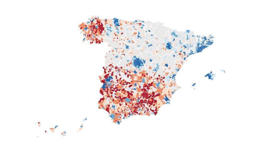 mapa renta municipios