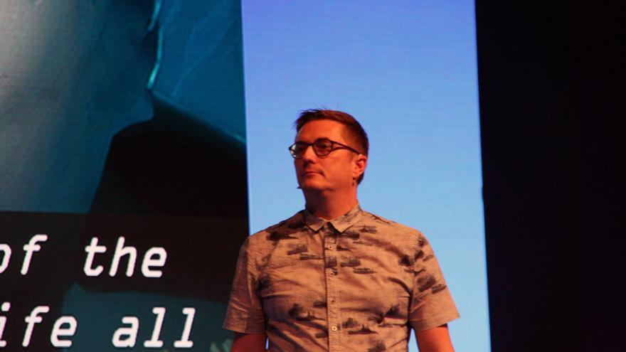 Dave Raynard de London Studios en la conferencia de MGW de PlayStation VR