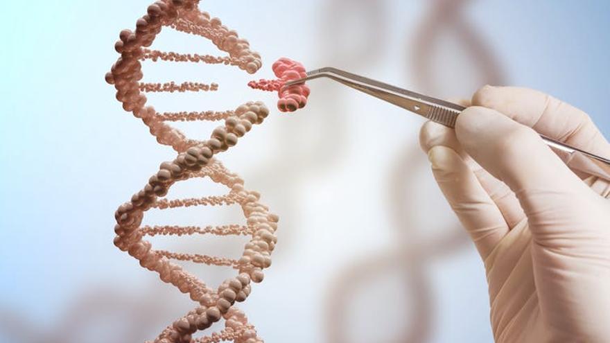 Cadena de doble hélice ADN