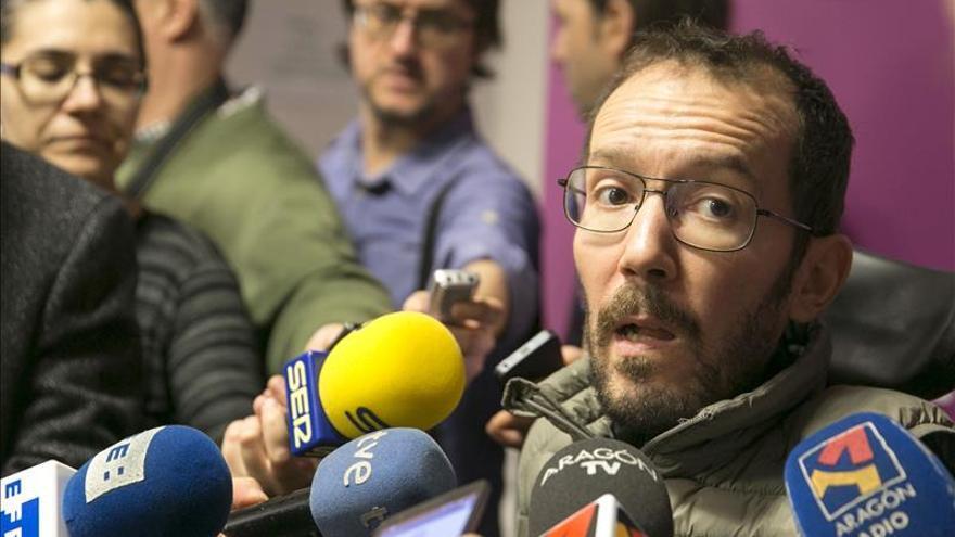 Echenique: El referéndum en Cataluña será una de las líneas para el pacto