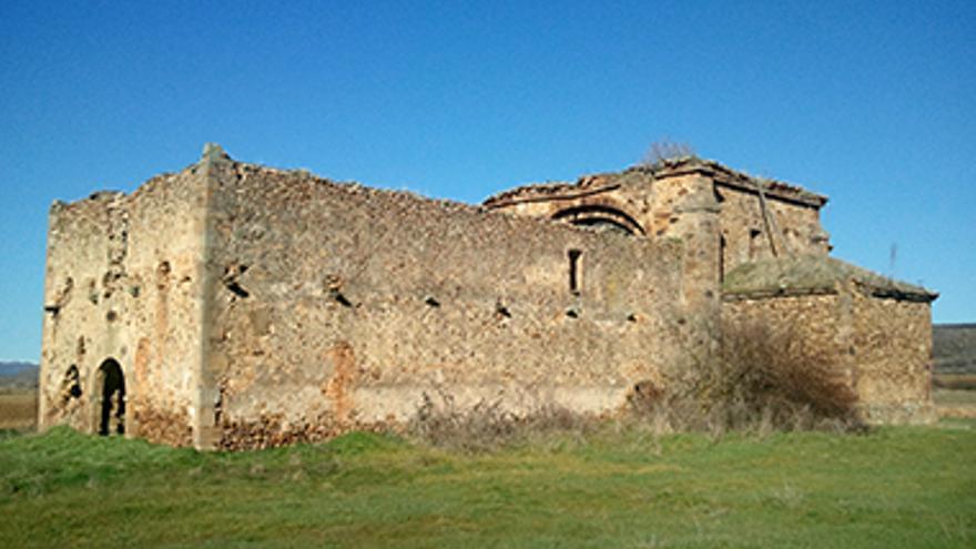 La ermita-santuario de Santa Catalina, en Tierra de Almanza (León), en la lista roja de patrimonio de Castilla y León. Hispanianostra