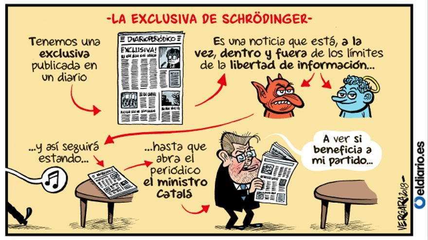 La exclusiva de Schrödinger