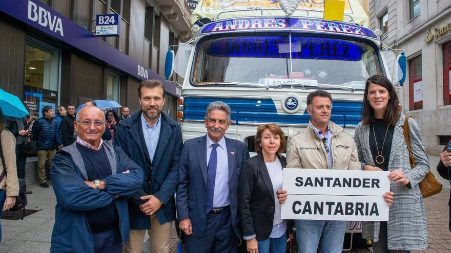 La iniciativa 'Camioneros contra el cáncer' recala en Cantabria