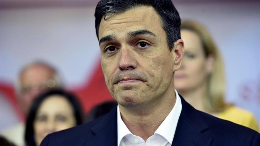 """Sánchez anunciará mañana el """"no"""" del PSOE a Rajoy y criticará su """"letargo"""""""