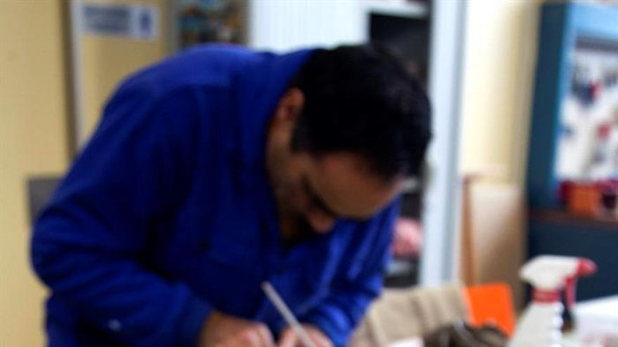 Solo un tercio de las personas con discapacidad está en disposición de trabajar